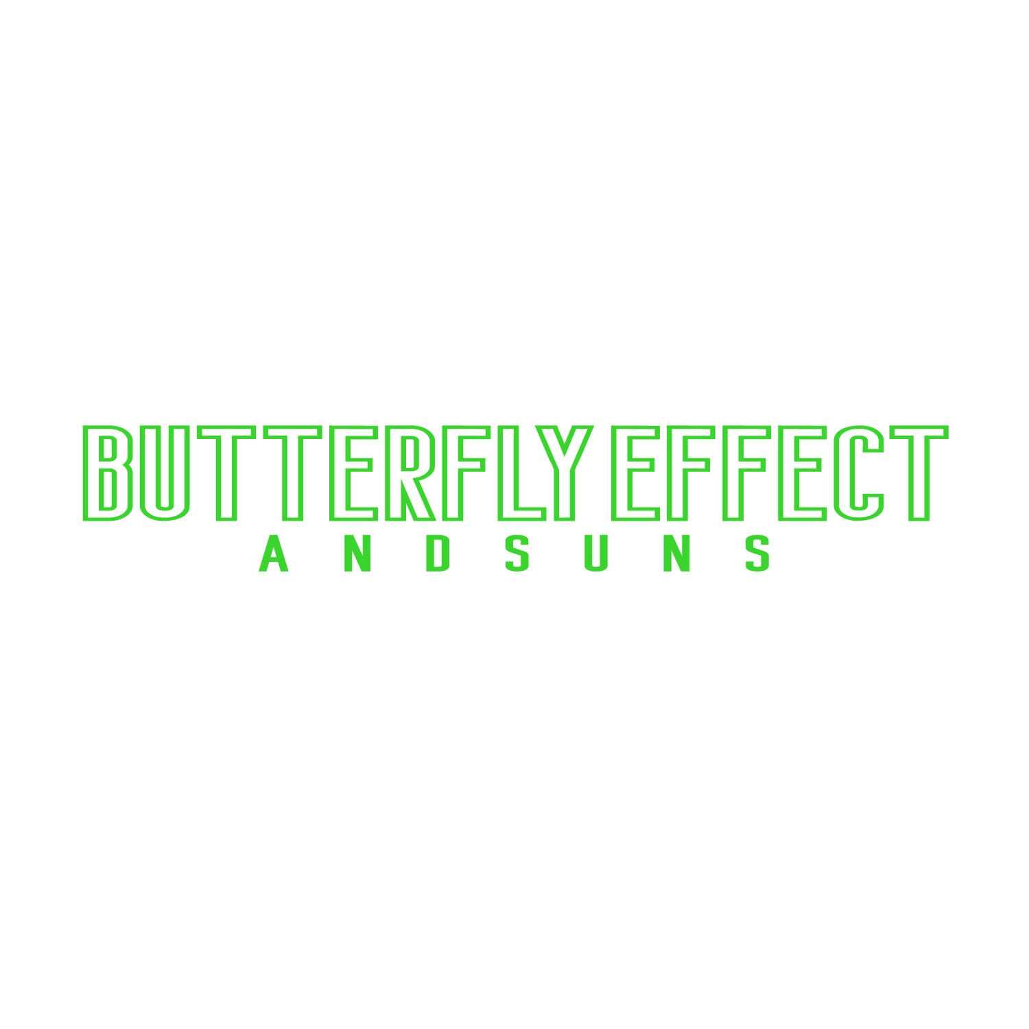 BUTTERFLY EFFECT LS TEE (WHITE)