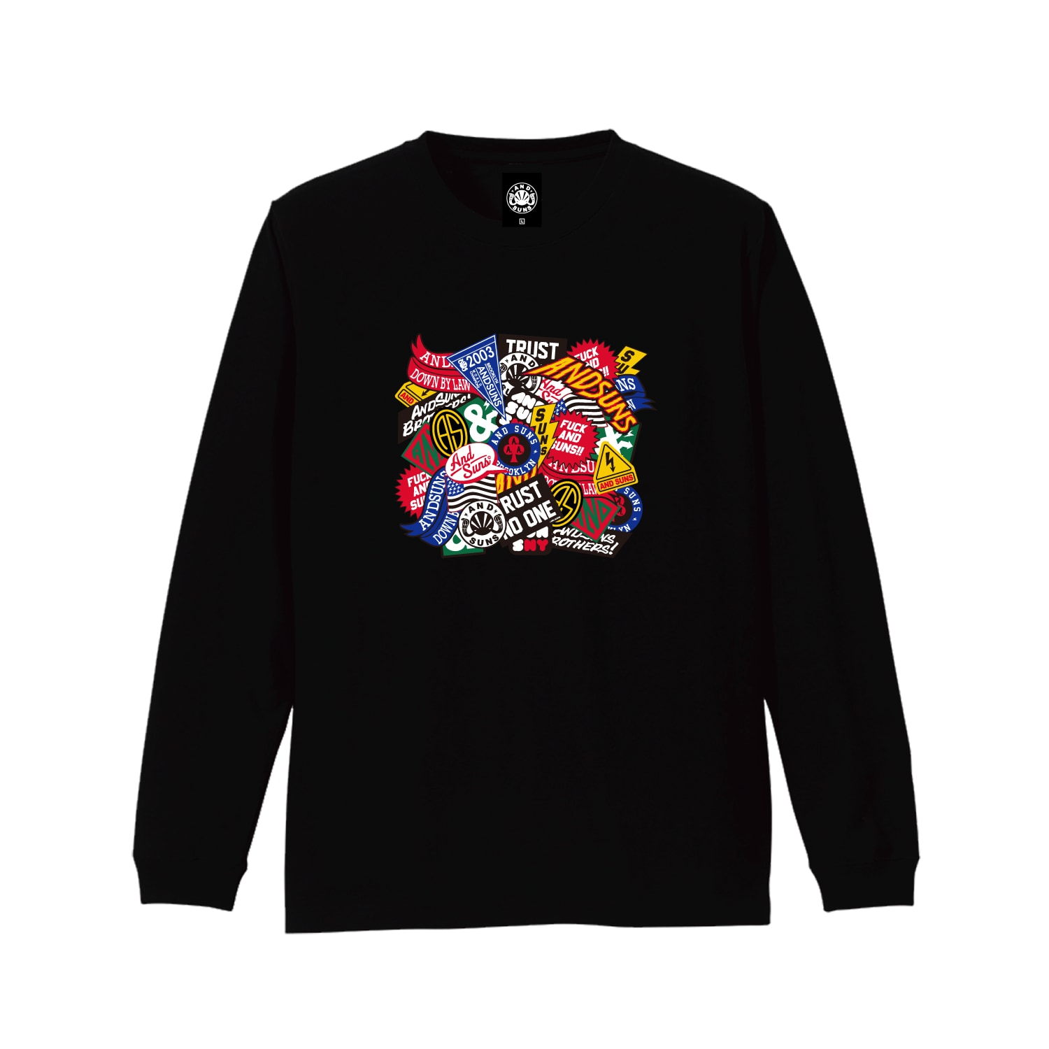 THE INFAMOUS SUNS LS TEE (BLACK)