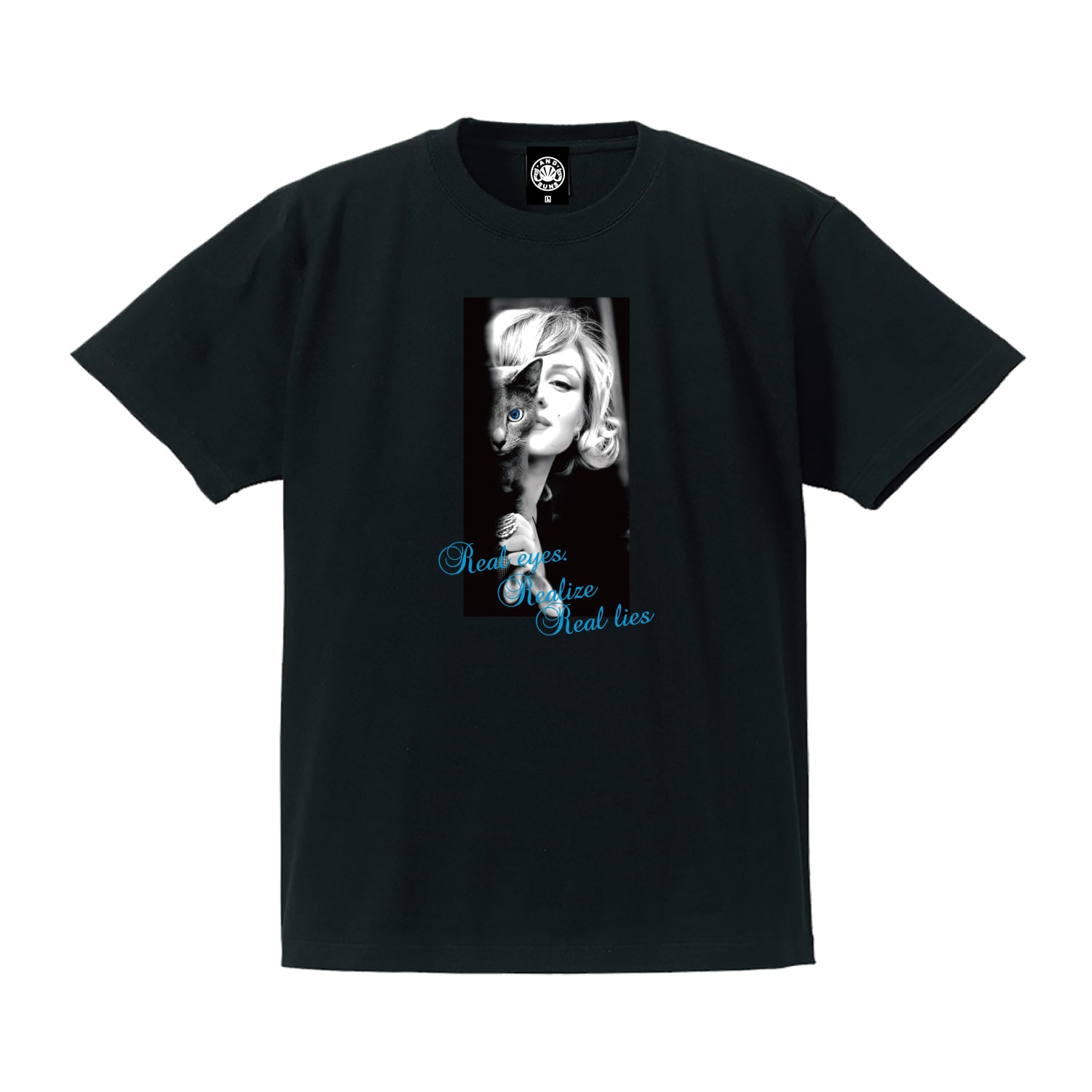 REAL EYES TEE (BLACK)