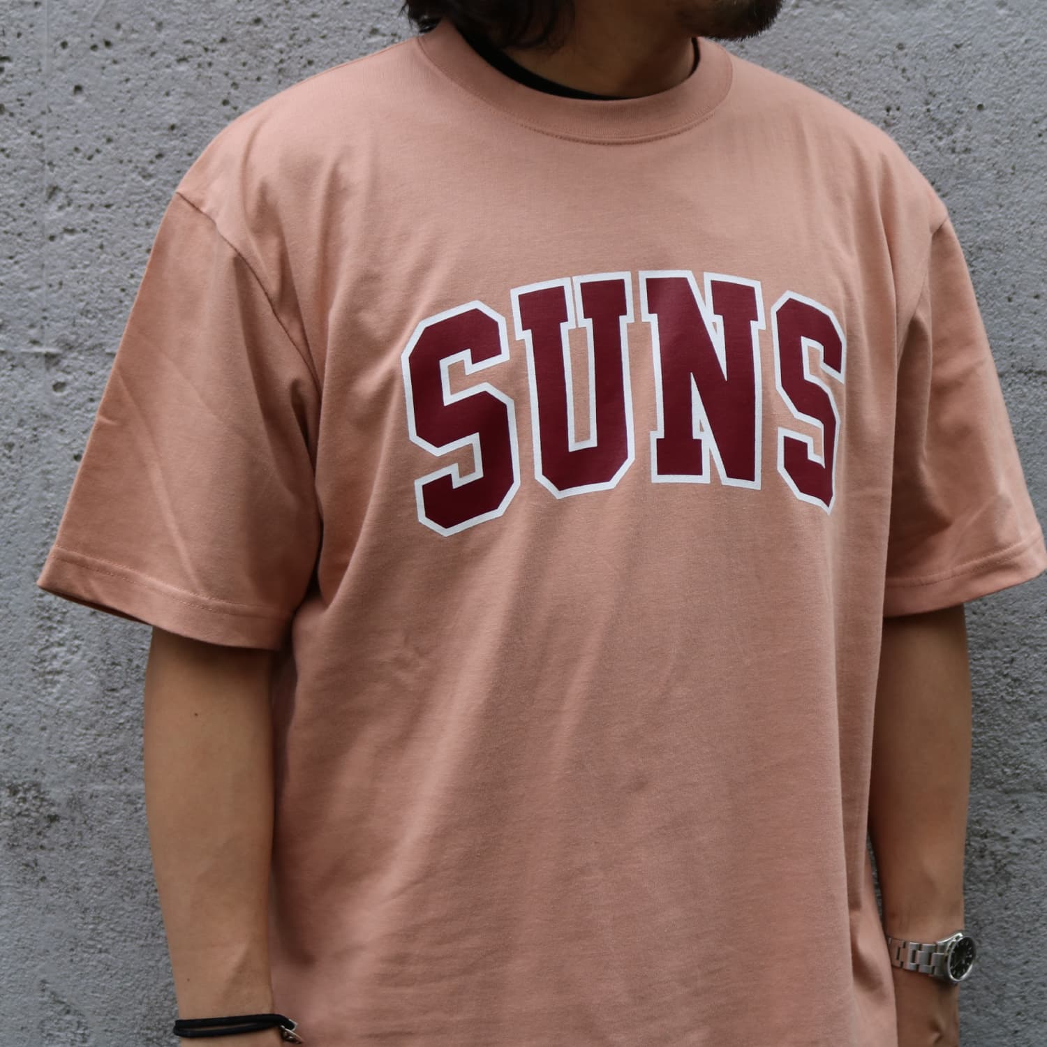 SUNS COLLEGE TEE (CORAL)