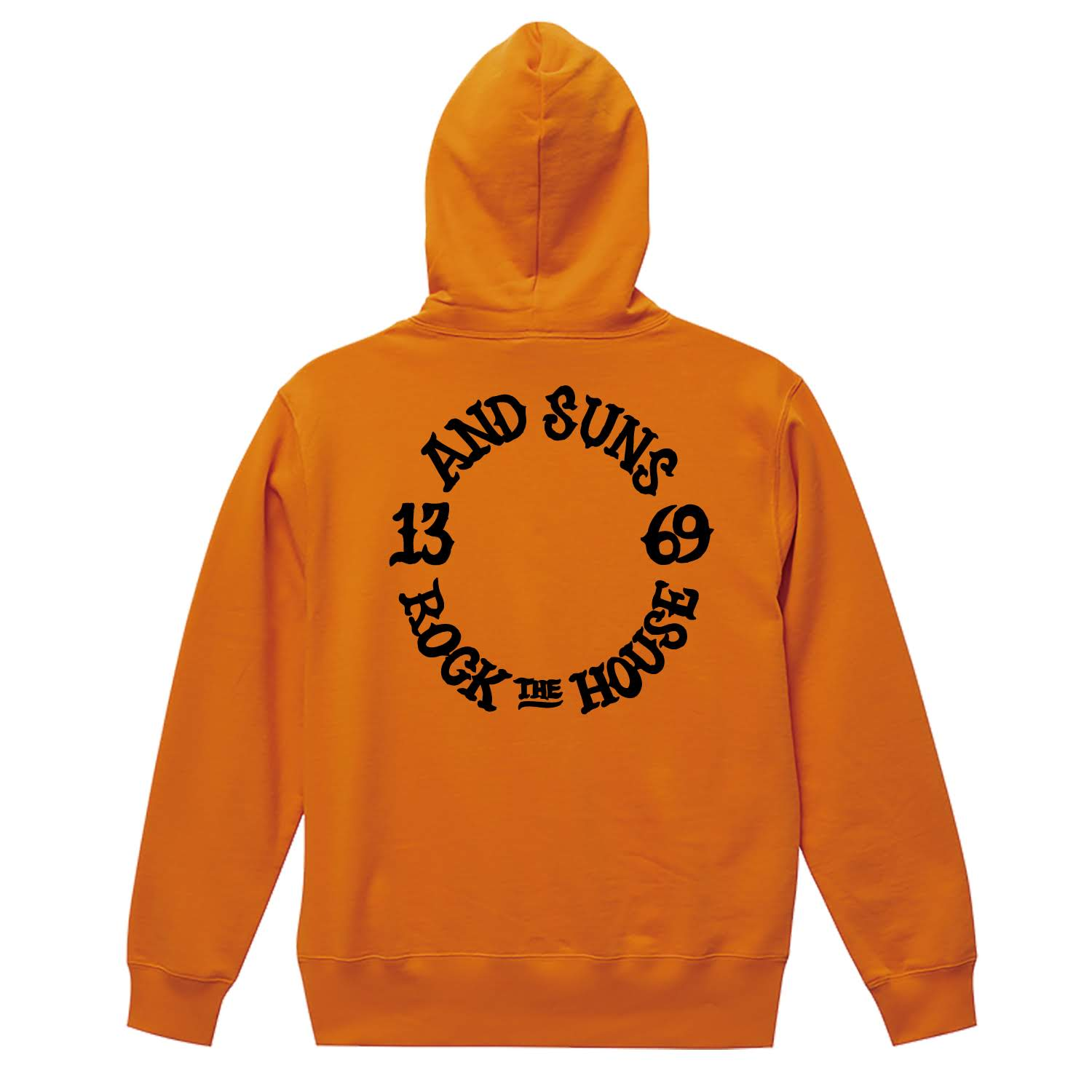 ☆ROCK THE HOUSE PULLOVER (ORANGE)