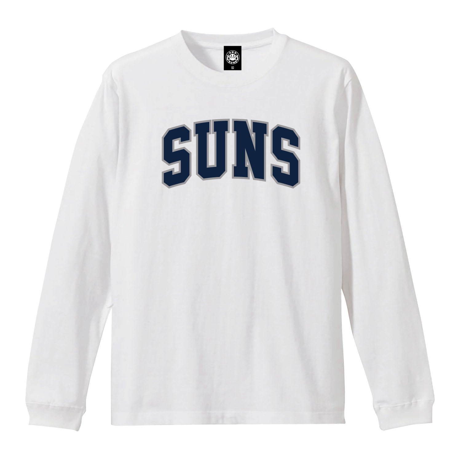 SUNS COLLEGE LS TEE (NY WHITE)