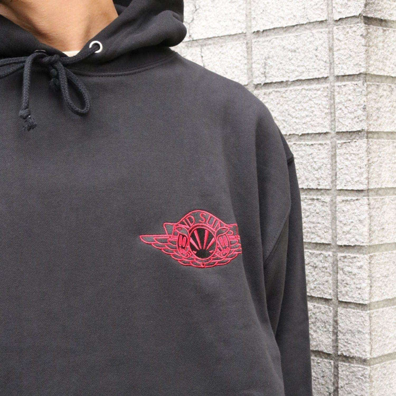 WING SUNS PULLOVER (BLACK)