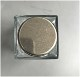 PO ハーバリウム専用ビン Mサイズ squarebottle150