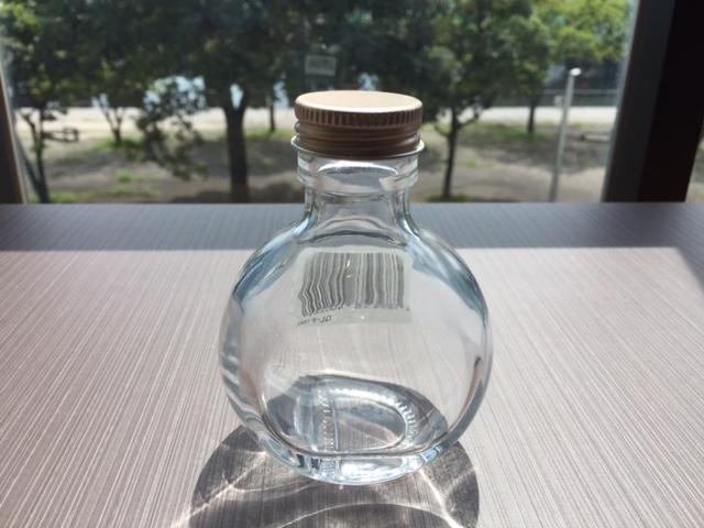 PO ハーバリウム・ガラスボトル フラスコ100