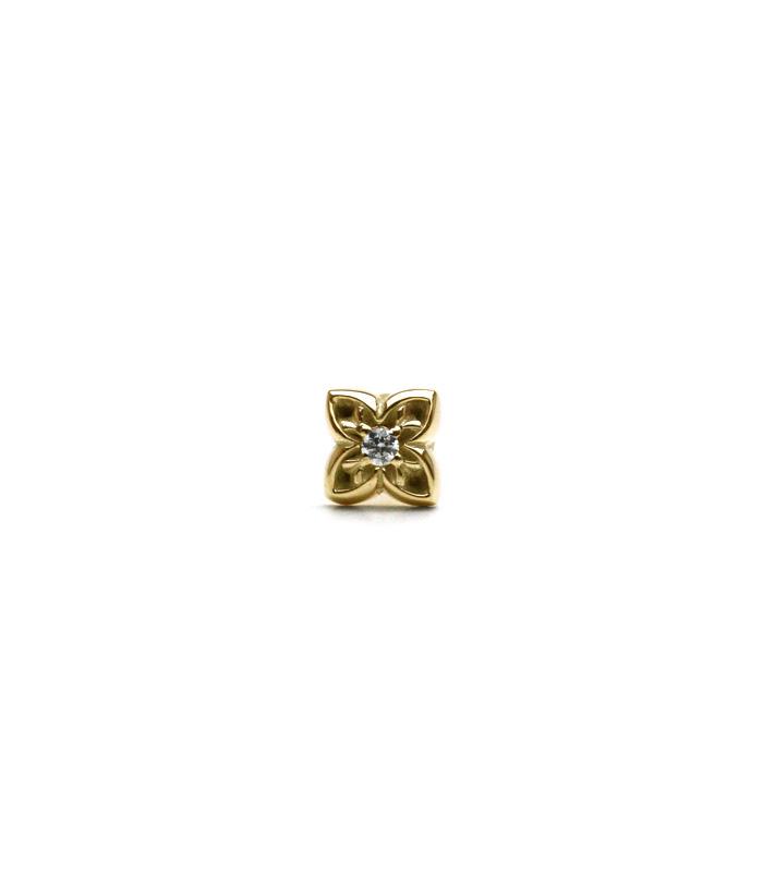 ArgentGleam Classic AGE-069 / K18GOLDフラワーダイヤモンド