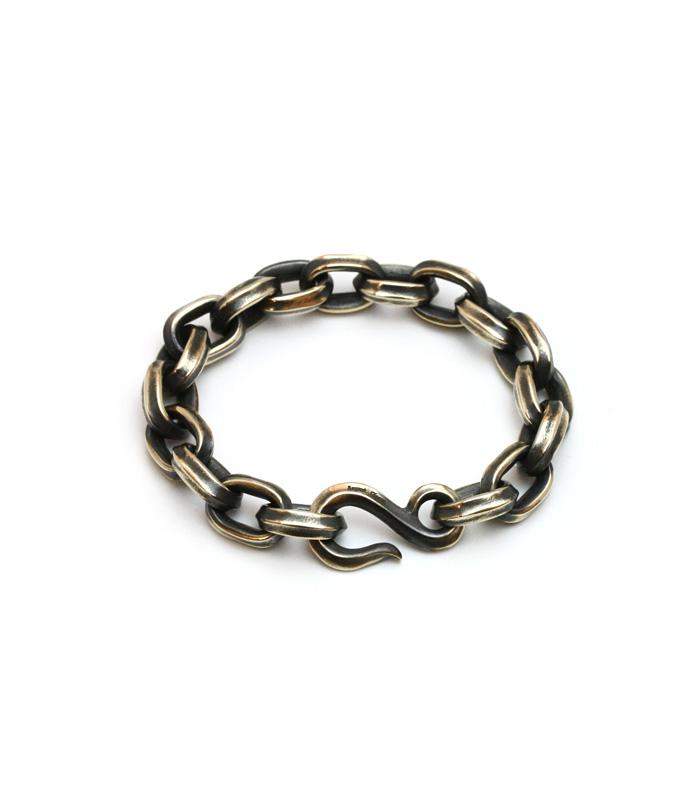 Spinal Chain Bracelet(Large / Brass)
