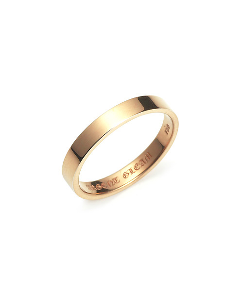 Square Band Ring K18PG 幅3.5mm