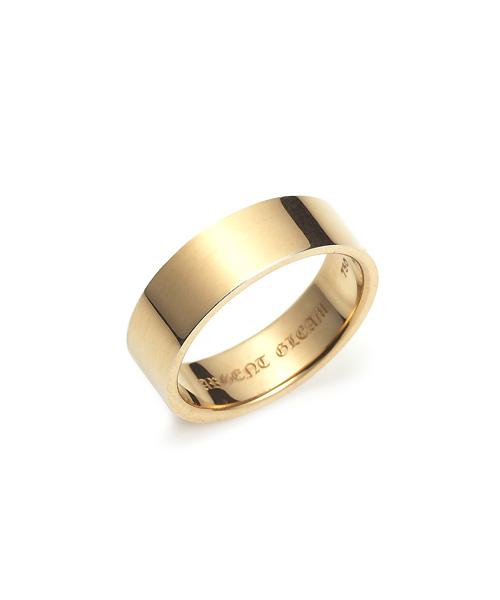 Square Band Ring K18YG 幅6.5mm