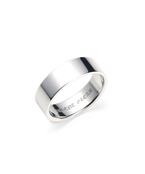 Square Band Ring Pt950 幅6.5mm