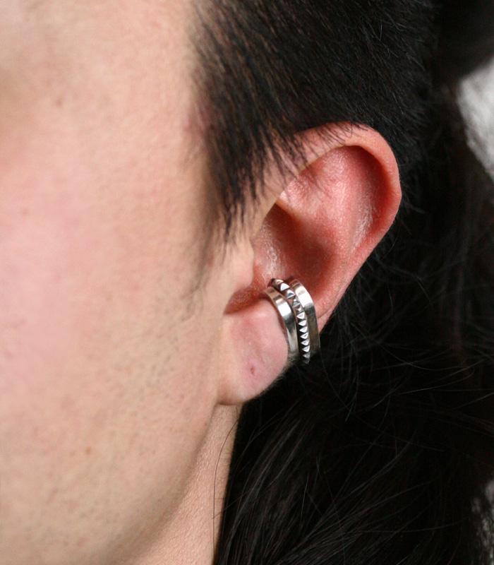 Oval Ear Cuff / Studs01