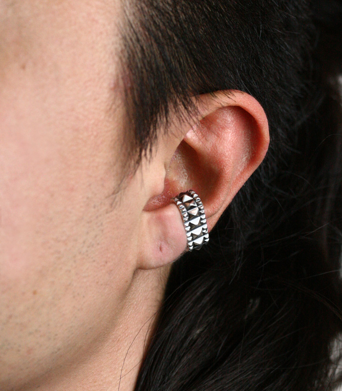Oval Ear Cuff / Studs02