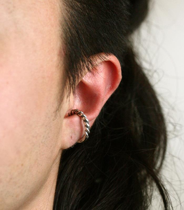 Half & Half Ear Cuff