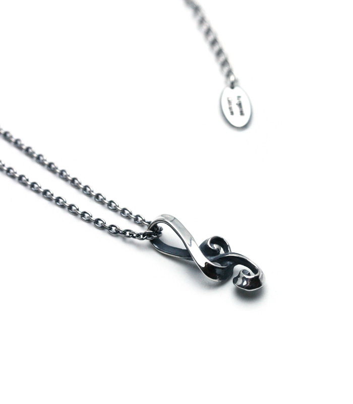 G Clef  Necklace