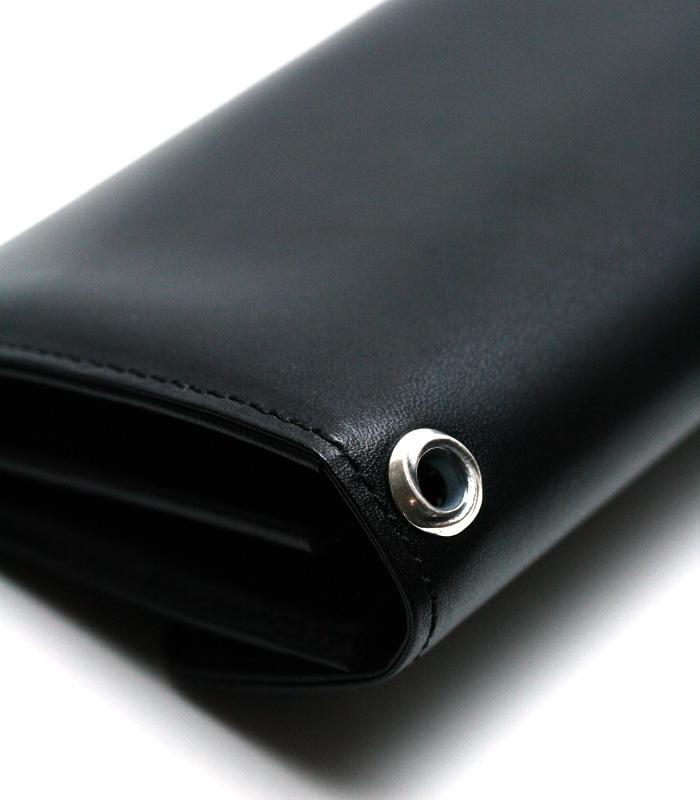 ArgentGleam Classic Wallet / アカンサスボタン