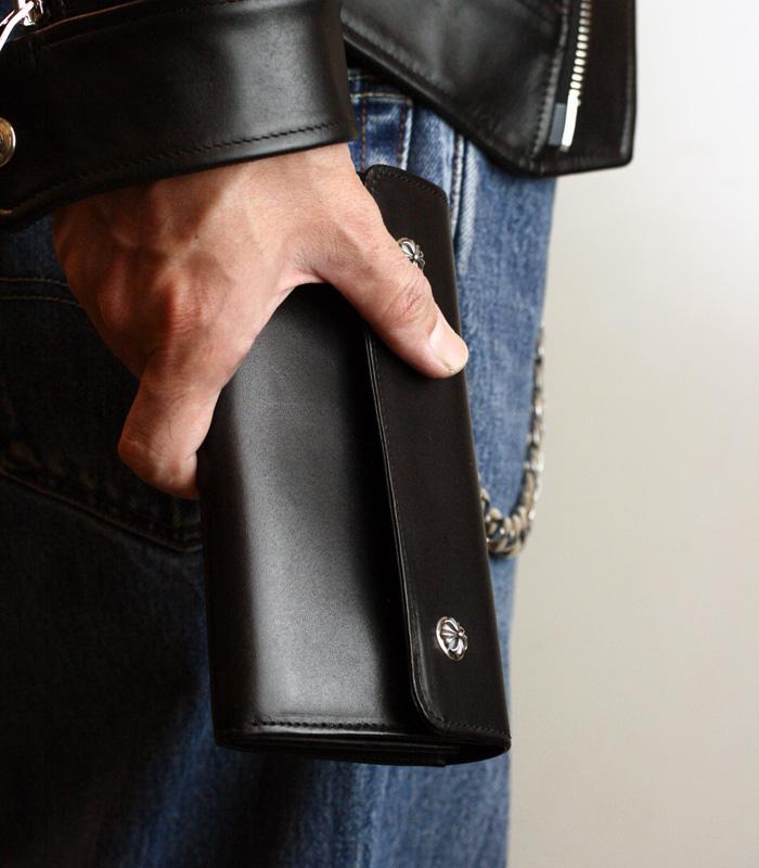 ArgentGleam Classic Wallet / ハートボタン