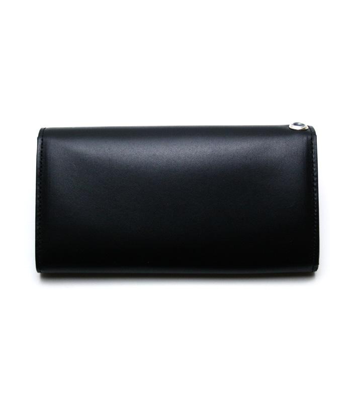 ArgentGleam Classic Wallet / アラベスクボタン