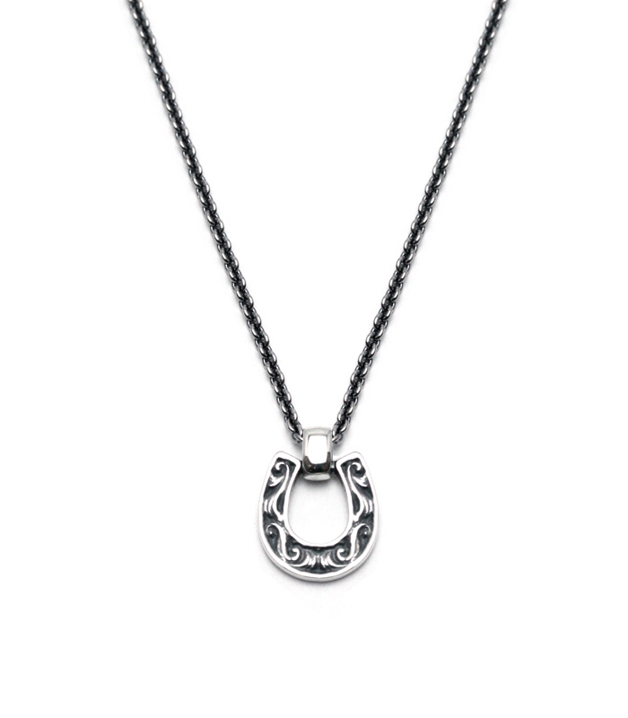 ARGENT GLEAM OLD HORSE SHOE NECKLACE(Small)