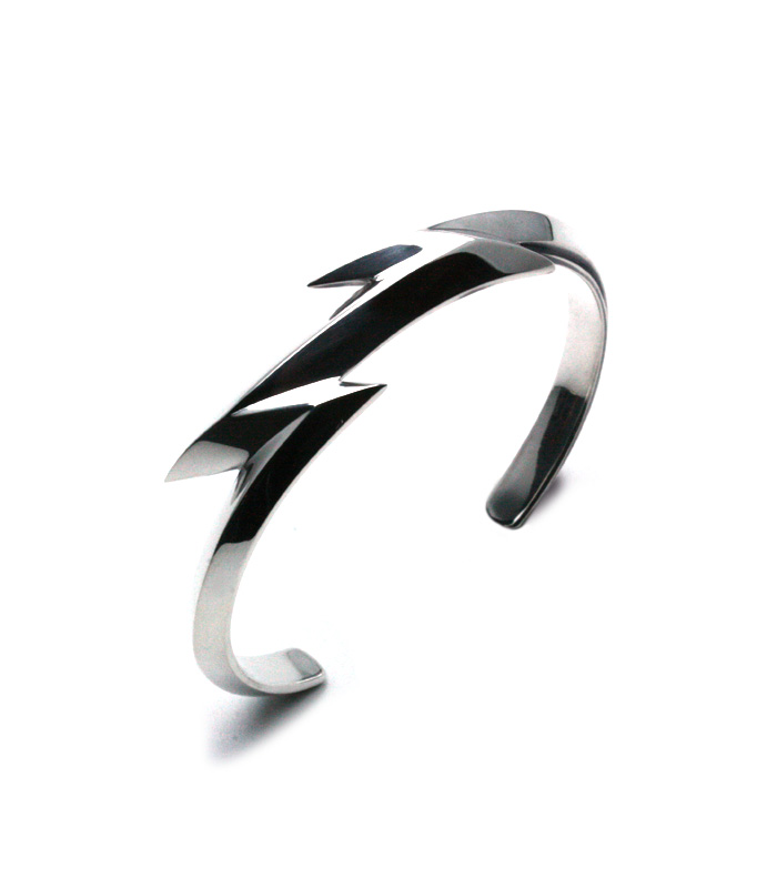 ARGENT GLEAM LT Thunder Studs Bangle