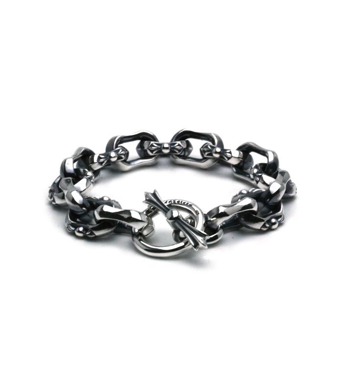 Mixed Square Bracelet