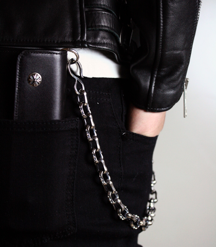 Mixed Square Walletchain / Medium Clip