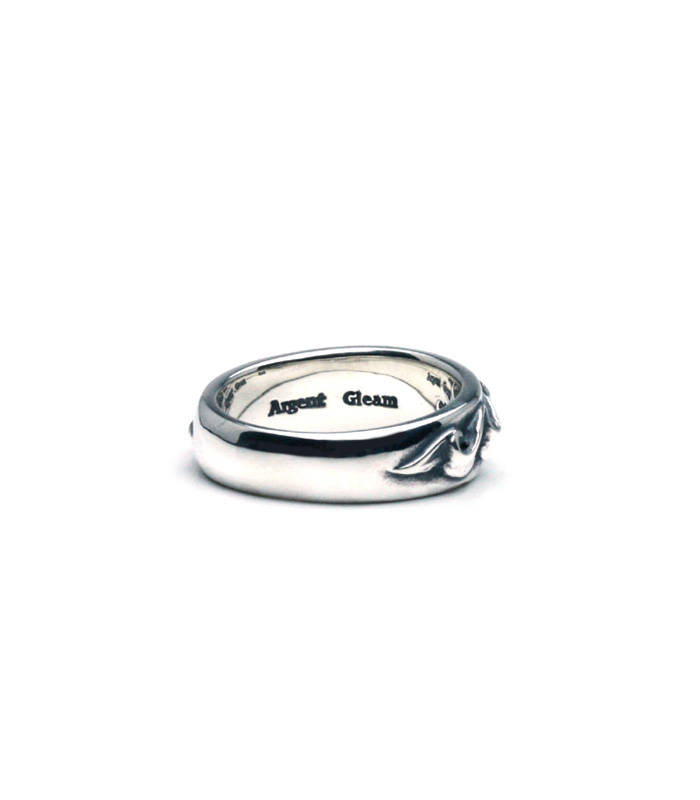 Wave Ribbon Ring / Narrow
