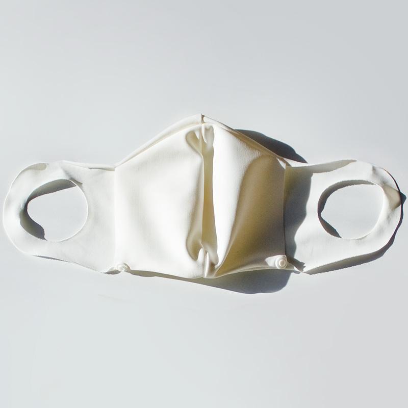 〈別売ネックカバー付替え用〉布マスク(スナップ付き)【日本製】UVカット