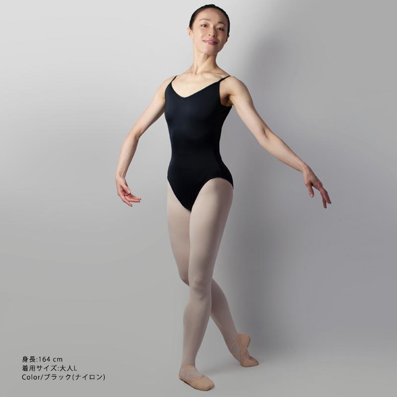 プロフェッショナルコレクション キャミソールレオタード 08 (シームなし)