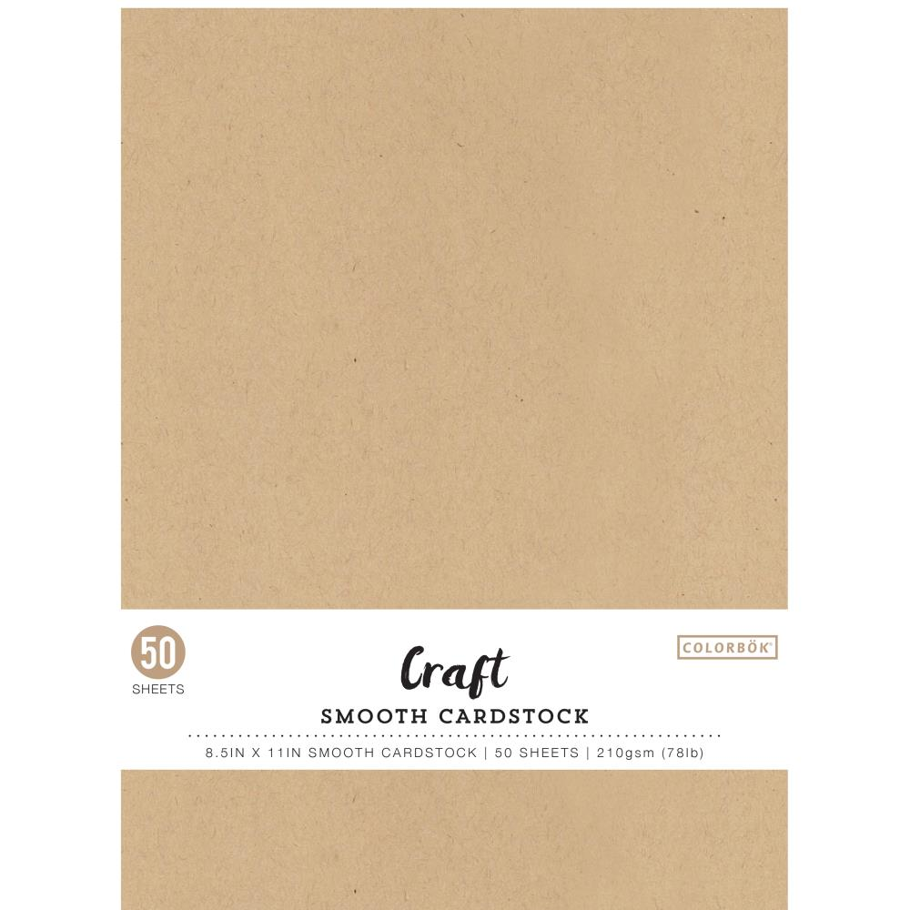 Colorbok Smooth Cardstock 8.5×11inch - 68205 Craft