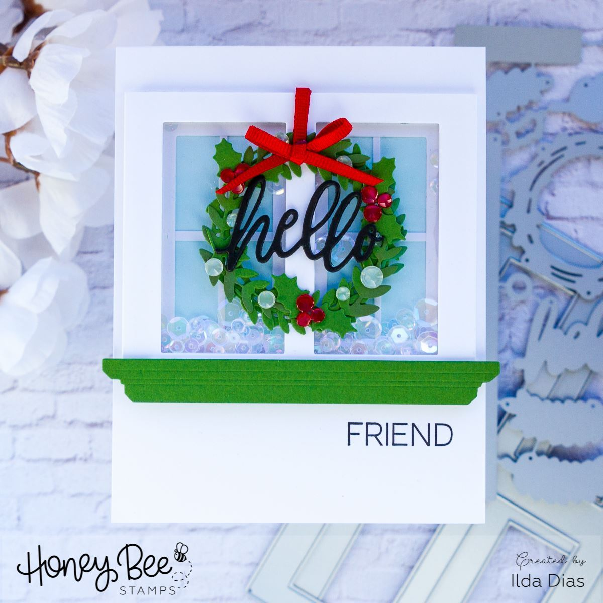 Honey Bee Stamps - Welcome Home