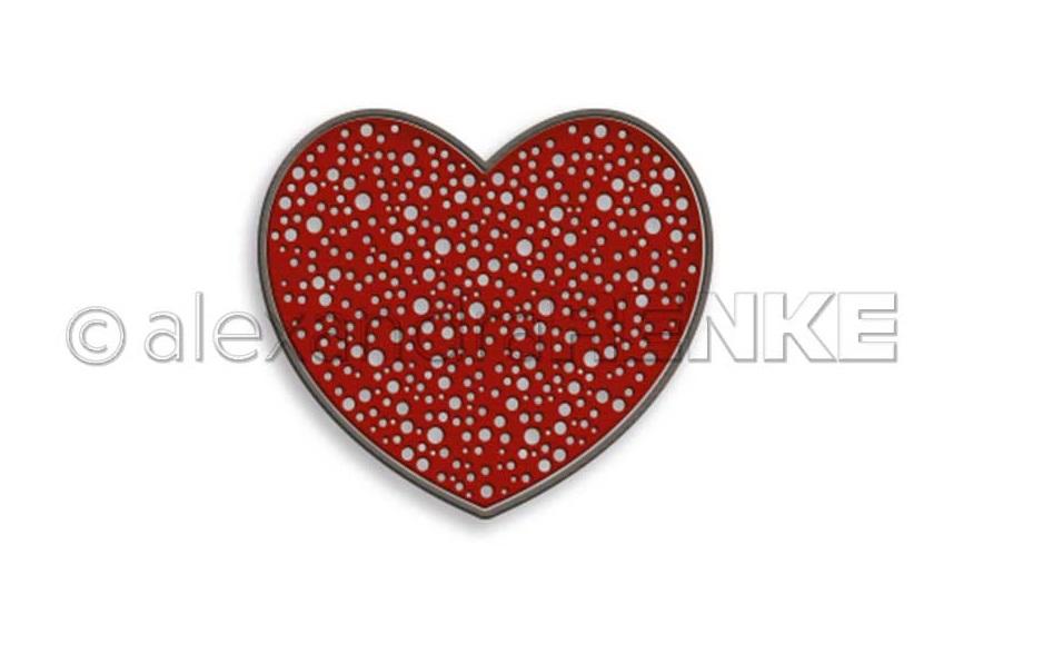 Alexandra Renke Die - D-AR-Hz0025 Bubbling Heart