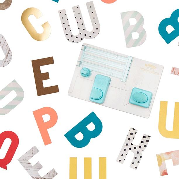 We R - 660889 Alphabet Punch Board