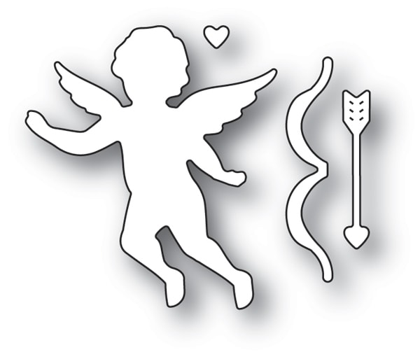 Memory Box Die  -  94115 Cupid with Bow