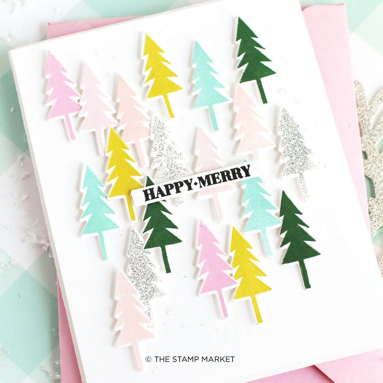 The Stamp Market Stamp - Happy + Merry