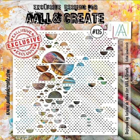 AALL & Create Stencil 6×6 - #125