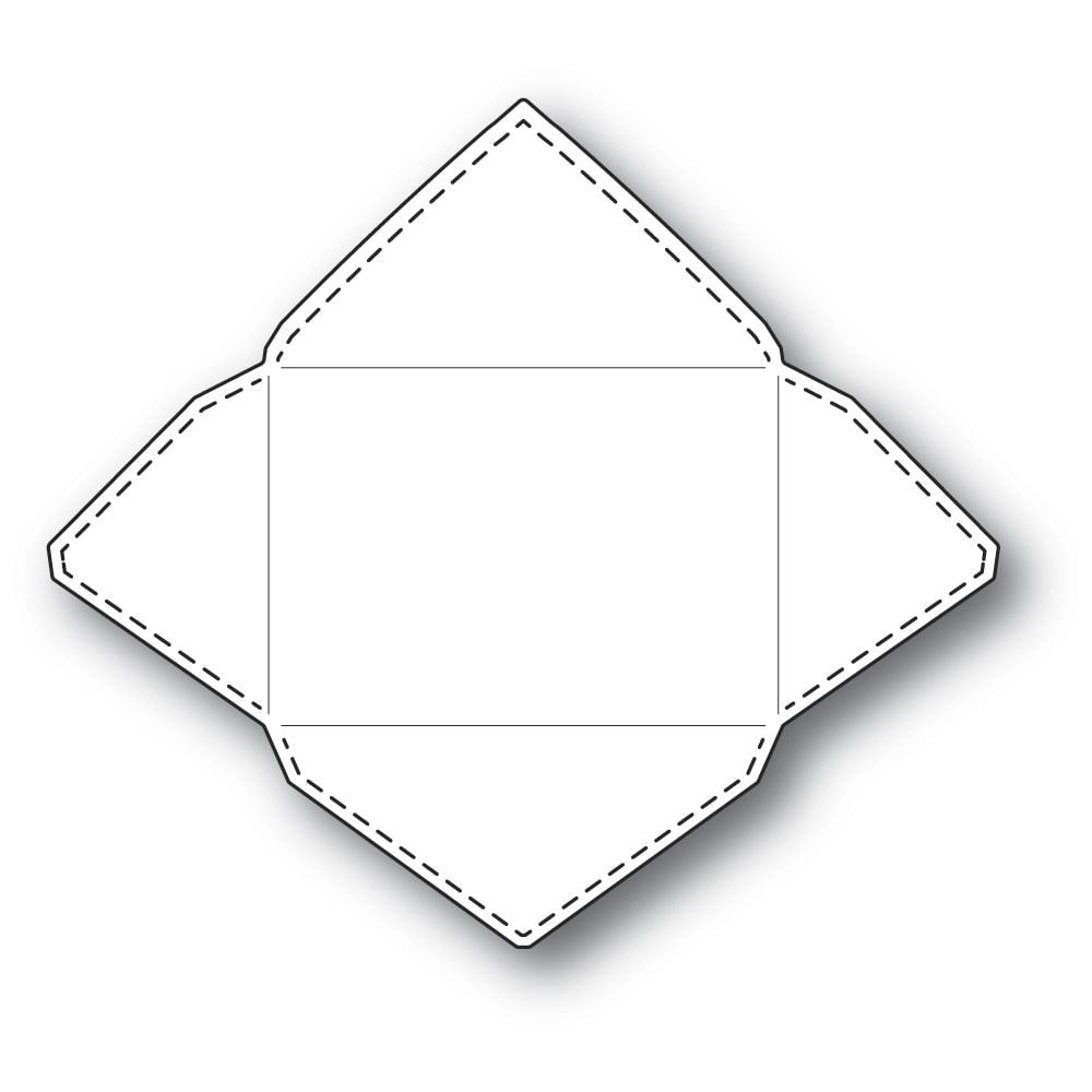 Poppystamps Die  -  2294 Stitched Envelope