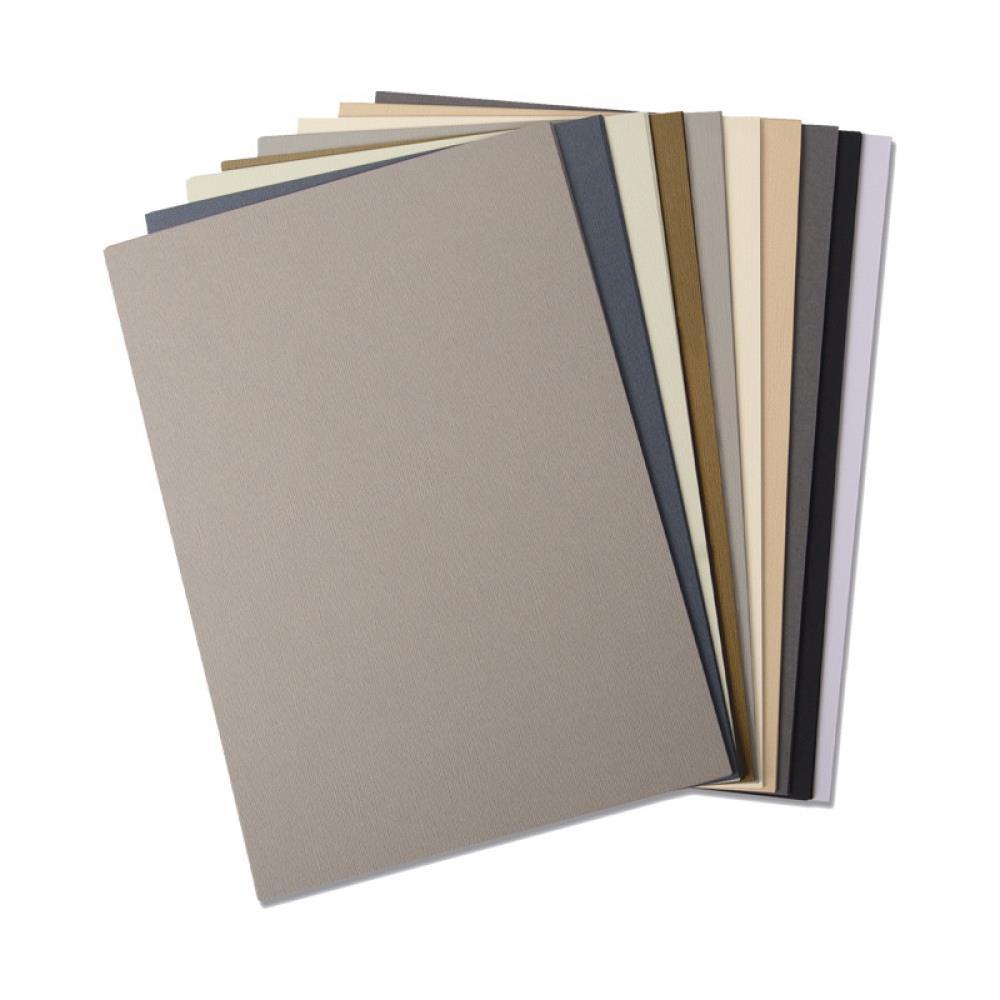 Sizzix 663780 Surfacez Cardstock A4 - Neutral