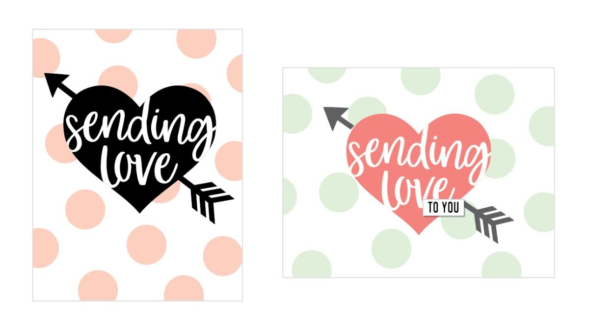Concord & 9th Stamp - Sending Love