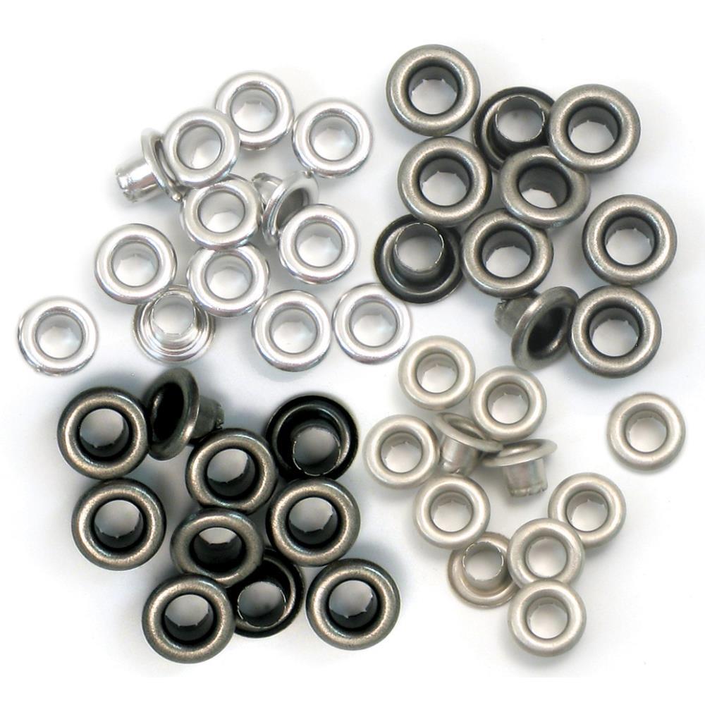 We R - 41584 Eyelets Standard Cool Metal