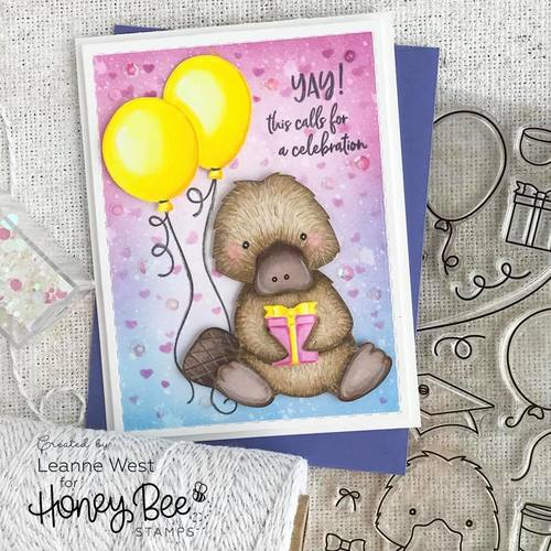 Honey Bee Stamps - Penny The Platypus