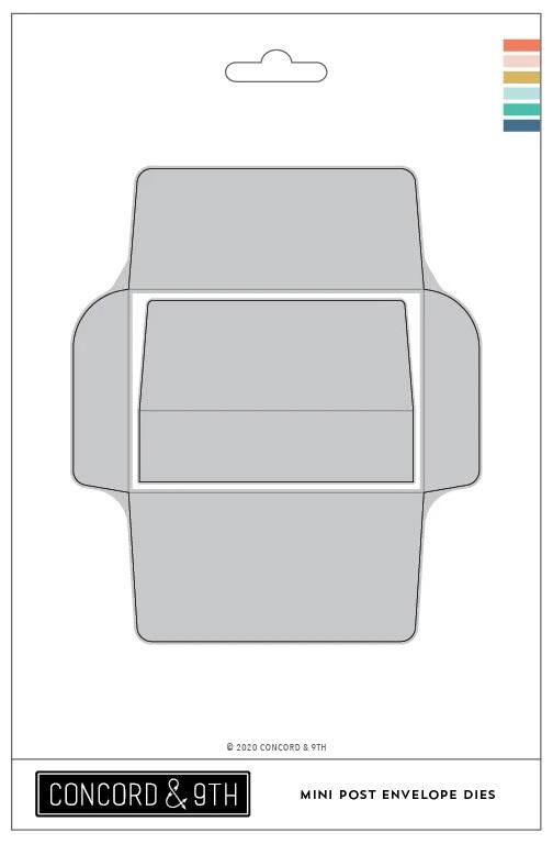 Concord & 9th Die - Mini Post Envelope