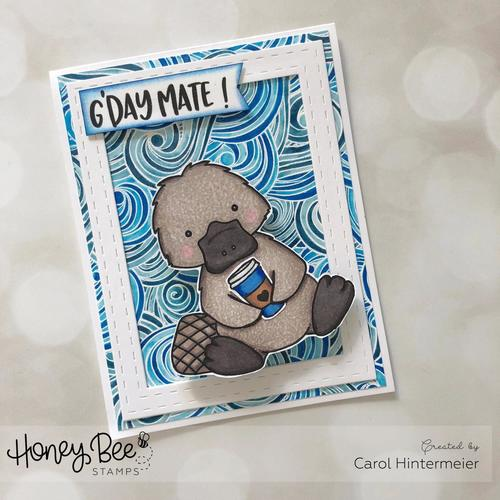 Honey Bee Stamps - セット♪ Penny The Platypus