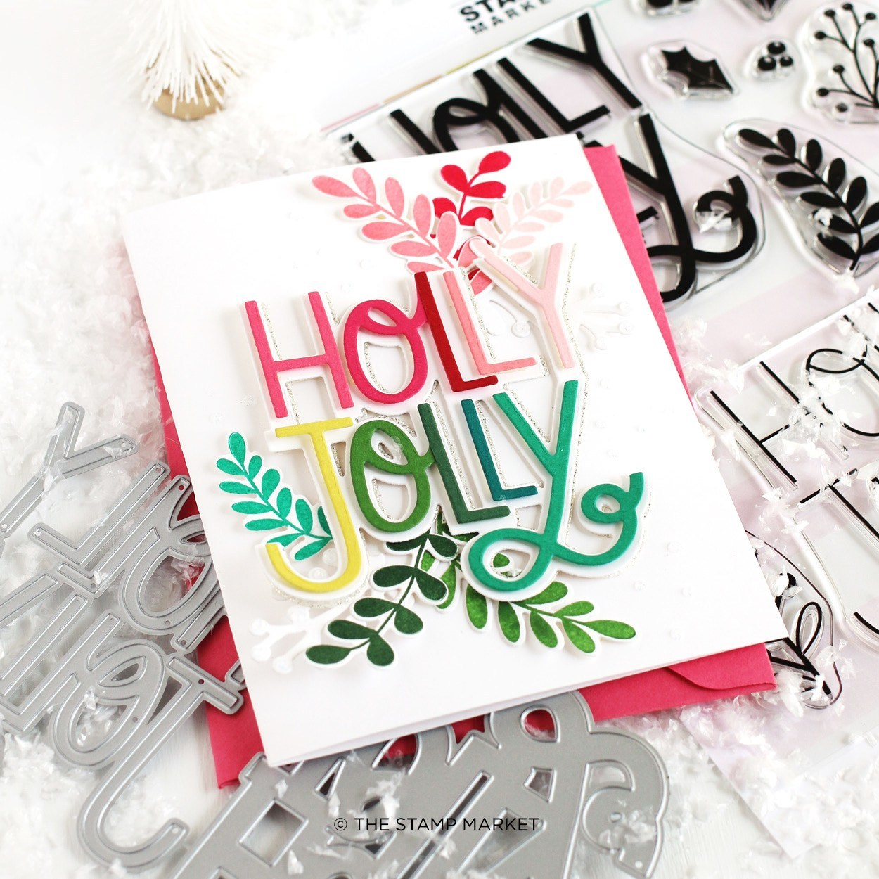 The Stamp Market セット♪ - Holly Jolly Greenery