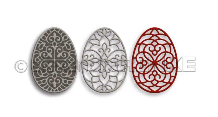 Alexandra Renke Die - D-XX-AR-Os0029 Ornament eggs