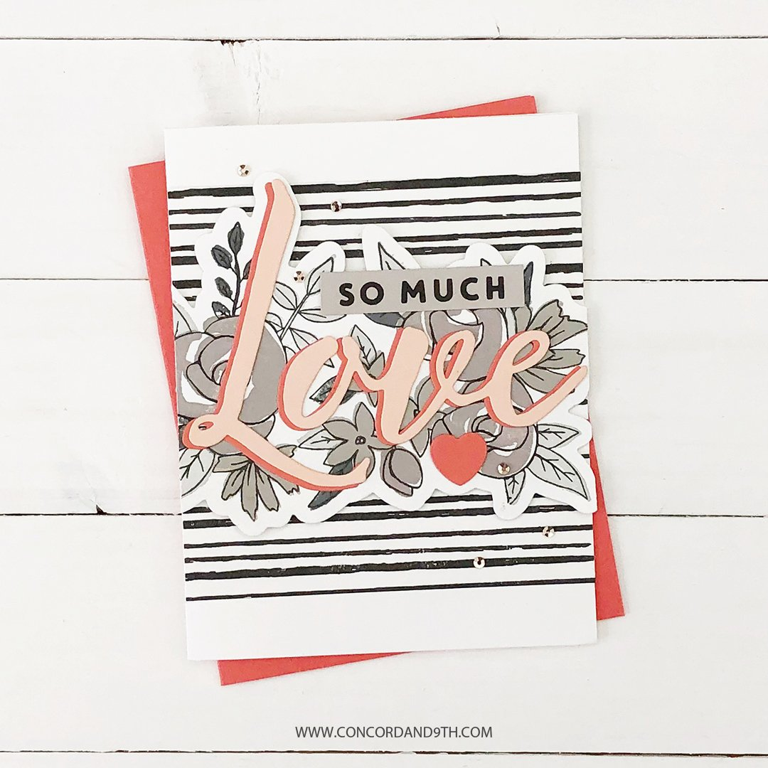 Concord & 9th スタンプ&ダイ セット♪ - Just Love