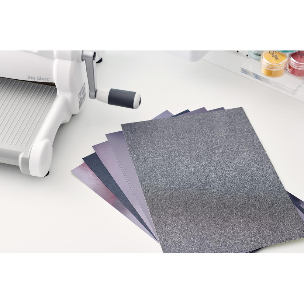 Sizzix 664536 Surfacez Opulent Cardstock A4 - Charcoal