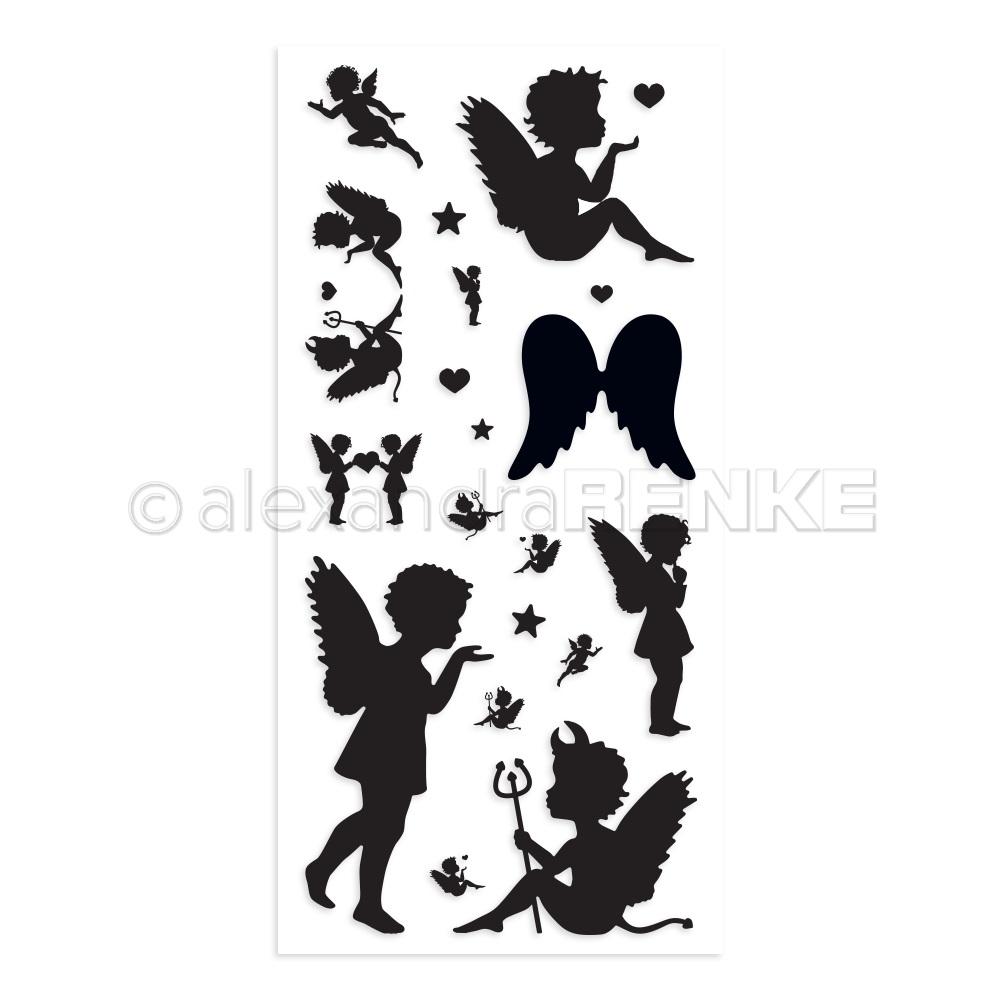 Alexandra Renke Clear Stamp - CS-XX-AR-EN0001 Many angels