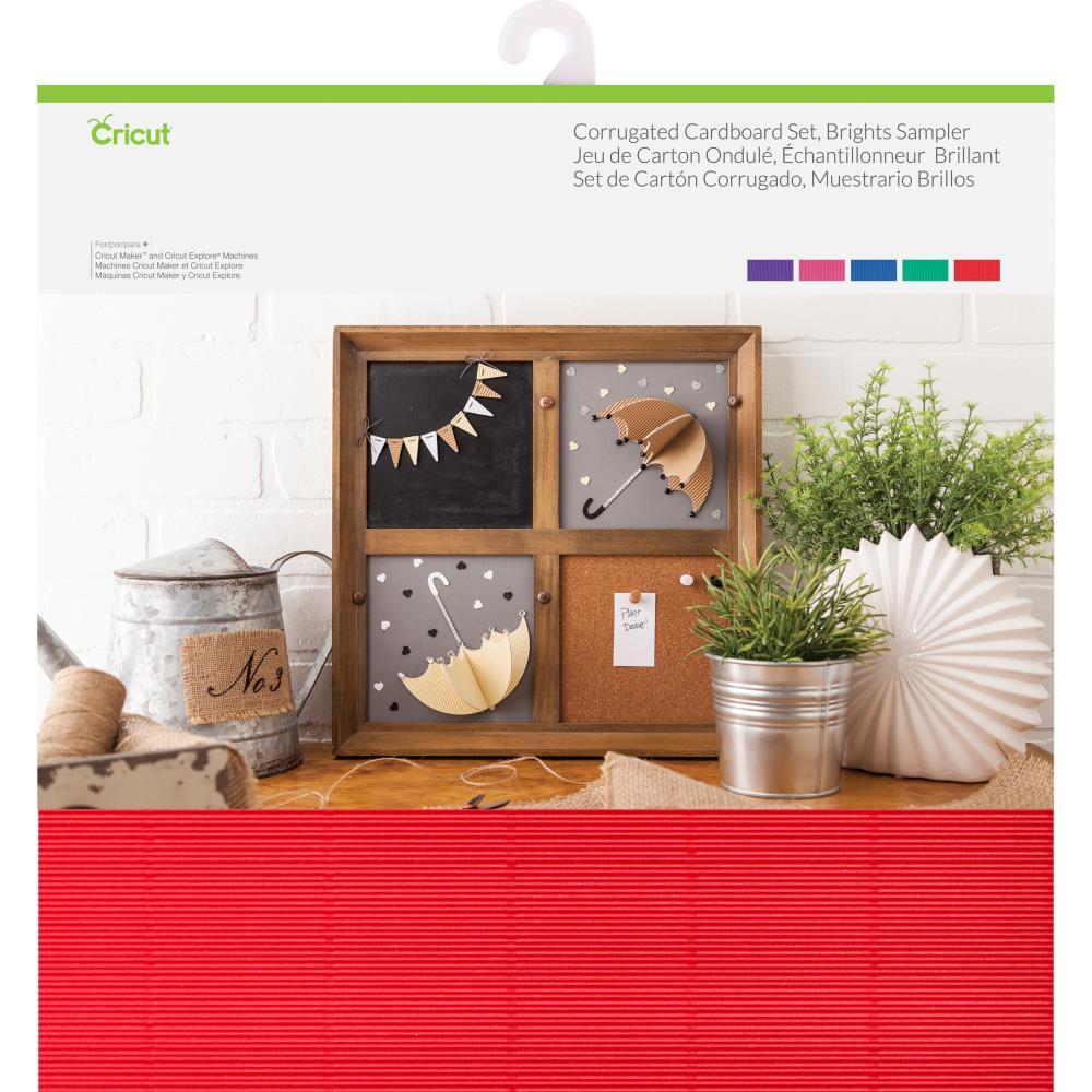 Cricut 2004069 - Corrugated Cardboard Brights 12inch