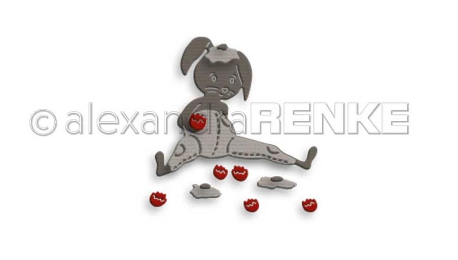 Alexandra Renke Die - D-AR-Os0031 Easter bunny Stups