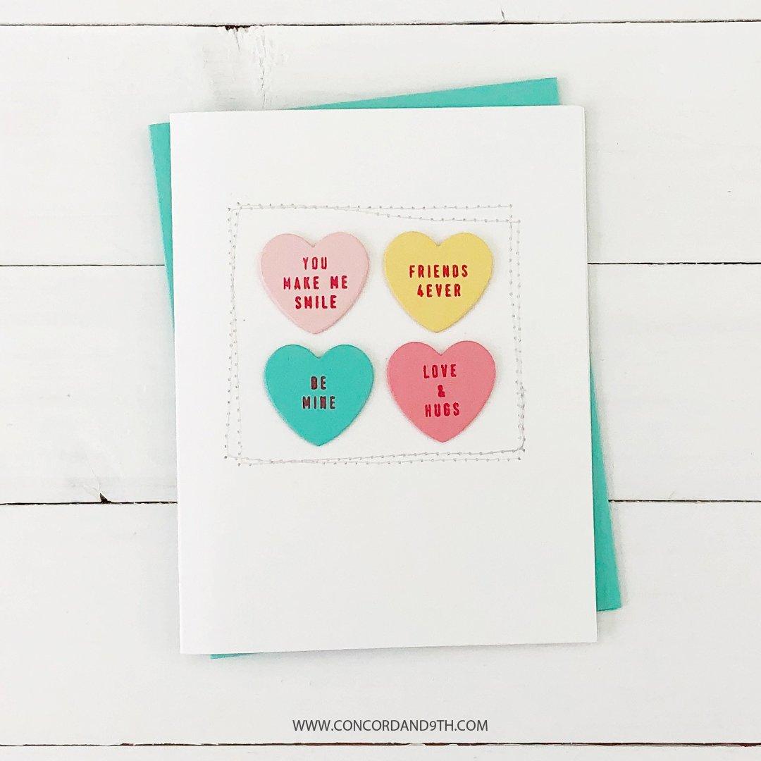 Concord & 9th スタンプ&ダイ セット♪ - Little Love Tags